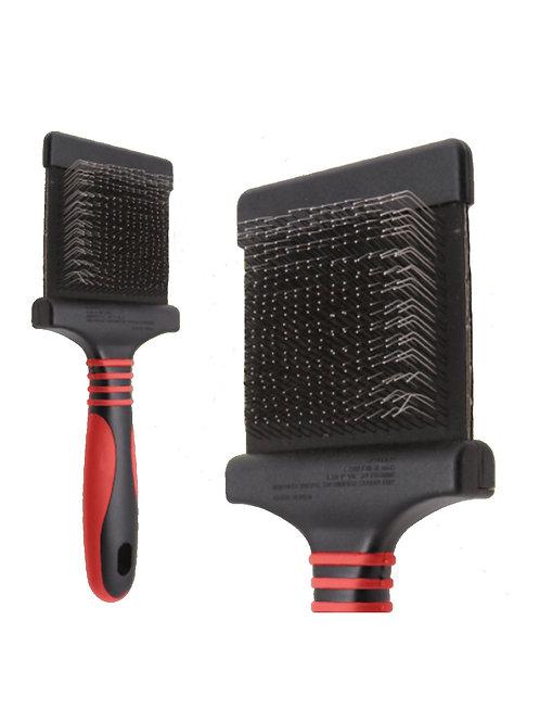 Pro Extra Firm Flexible Slicker Brush (Red)