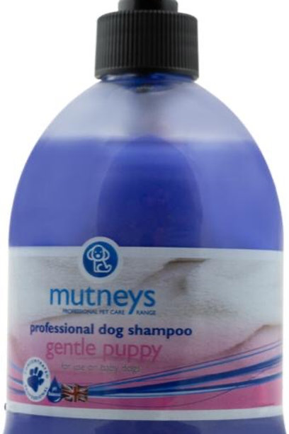 Mutneys Gentle Puppy Shampoo - Hypo-allergenic