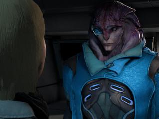 Mass Effect: Interspecies love triangle