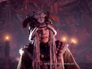 A dignified, influential older woman in a video game? WTF?