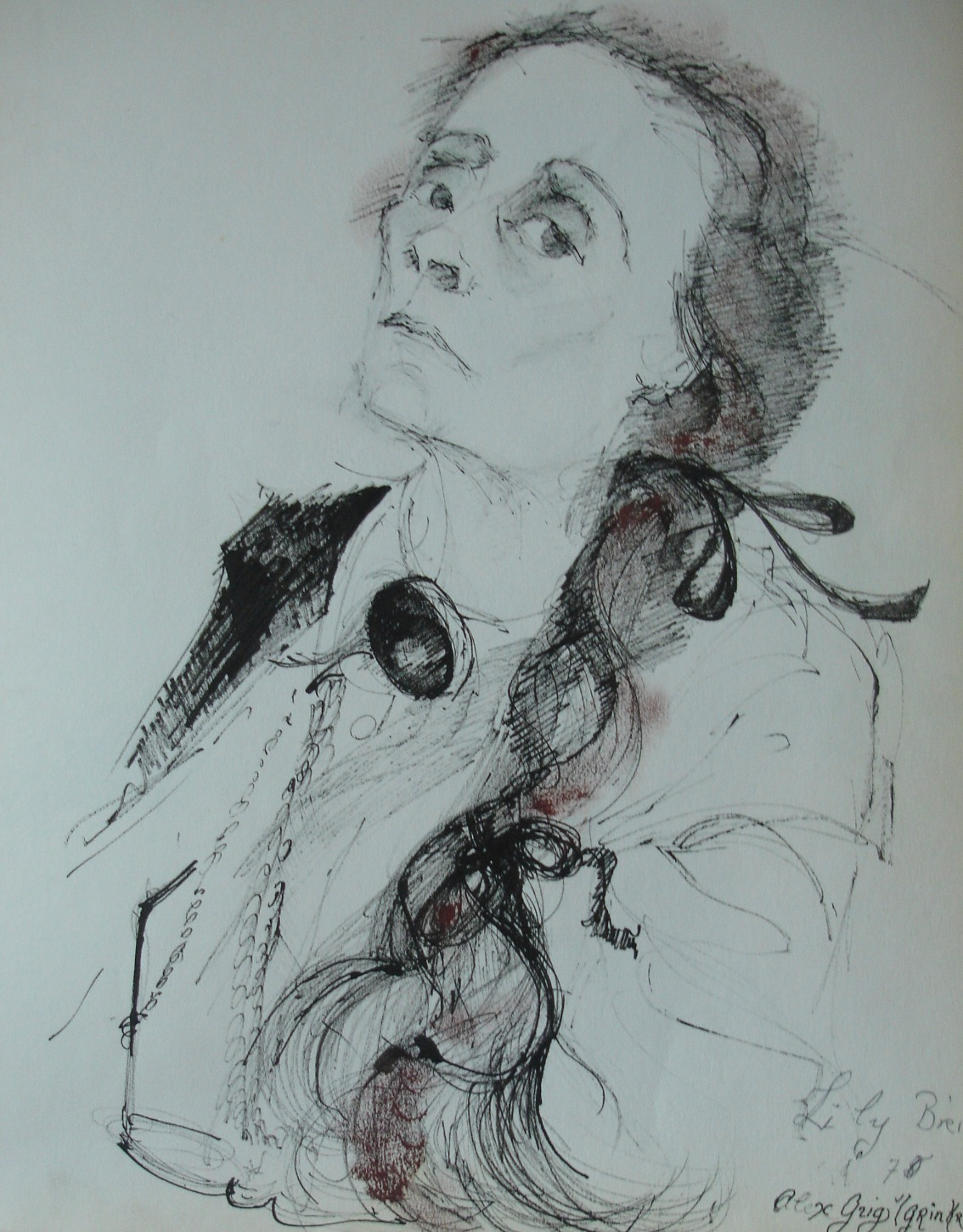 Lily Brik, Mayakovsky's muse