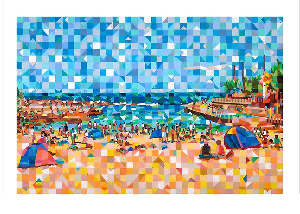 Clovelly Beach 40cm x 60cm.jpg