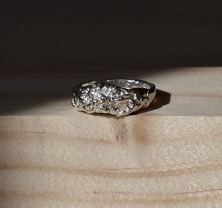 Molten Thick Band Ring