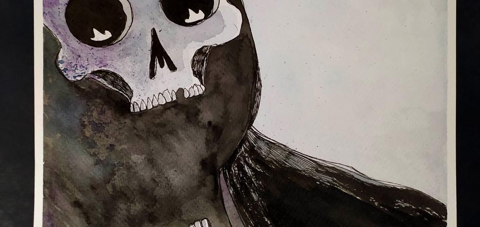 Fantasma con cráneo
