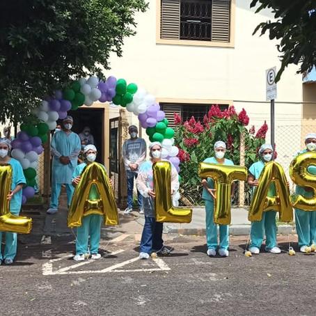 Centro de Internação Missão chega ao marco de mil altas hospitalares do Covid-19