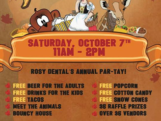 Rosy Dental to hold 'Tacoberfest'