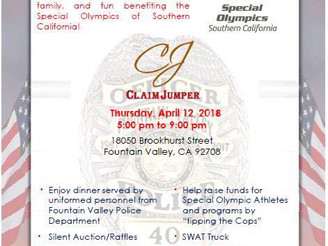 Tip-A-Cop fundraiser set for Thursday