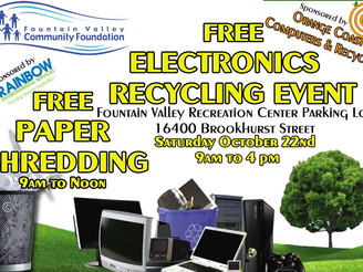 Electronic recycling event isSaturday