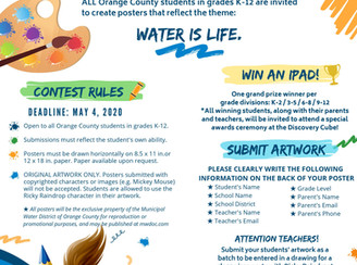 Water District poster contest open to OC students
