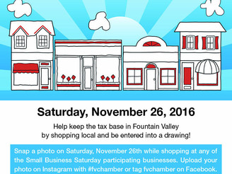 Nov. 25 is Chamber's Small Business Saturday