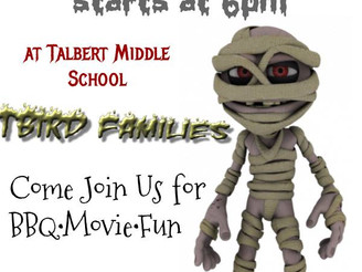 Talbert Middle School to host movie, trunk-or-treating