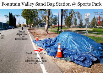 Be prepared: Free sandbags available