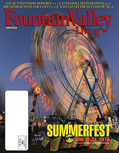 Fountain Valley Living Magazine cover