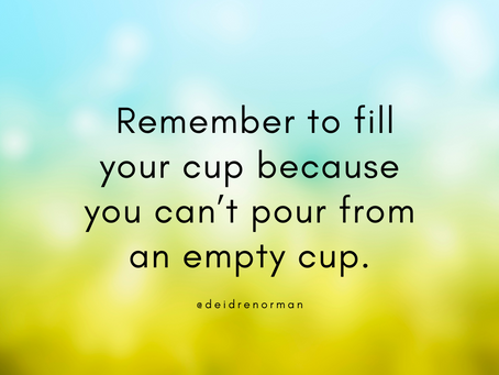 How to Fill Your Own Cup Daily (and Not Feel Guilty About it)
