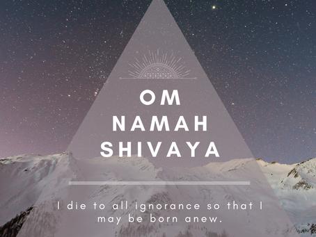 Mantra+ Mudra Practice:Om Namah Shivaya +Prithvi Mudra