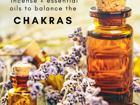Using Incense or Essential Oils to Balance the 7 Chakras