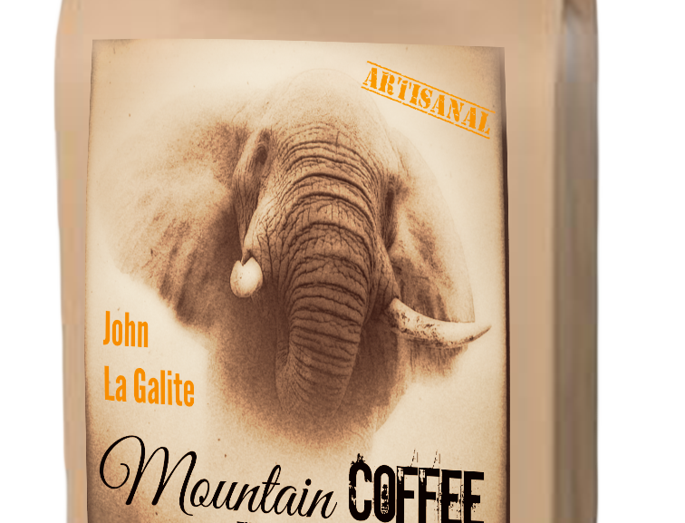 MOUNTAIN COFFEE, medium roast, 250g café en grains