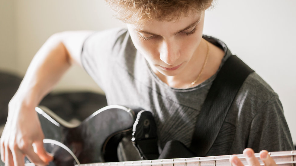 Beginner Guitar Class for Grades 6-12 (1:00)