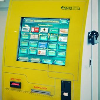 Оплата услуг в терминалах Платежка