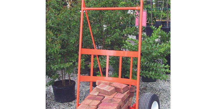 "Orange 30"" Tree & Shrub Cart"