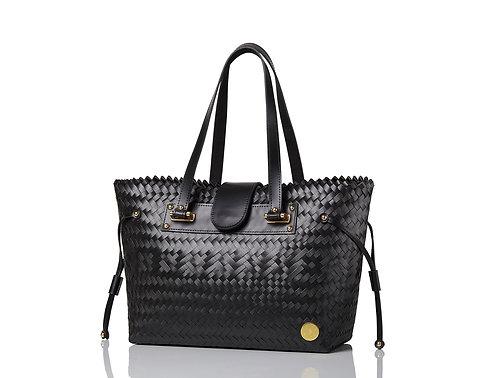Stella Handbag (Black with Genuine Leather)
