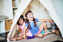 girls indoor tent