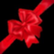 Ribbon on Daniella's Gift Card Page