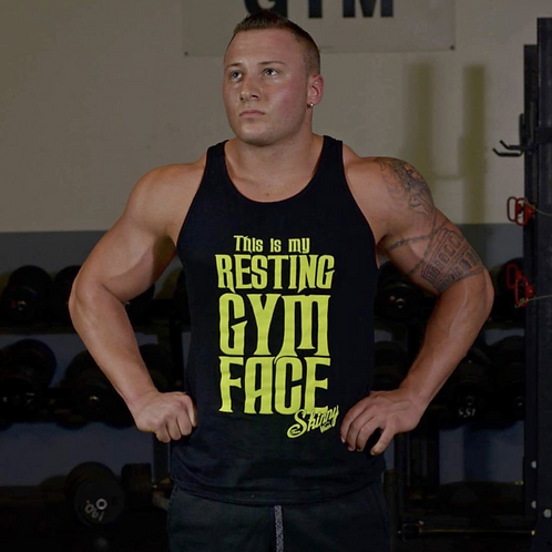 Resting Gym Face Men's Tee