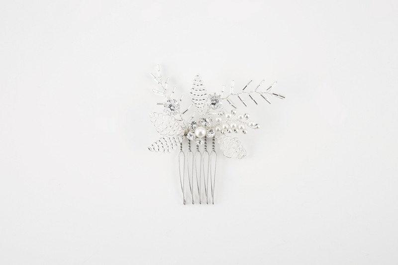 Jordan Silver - Haircomb
