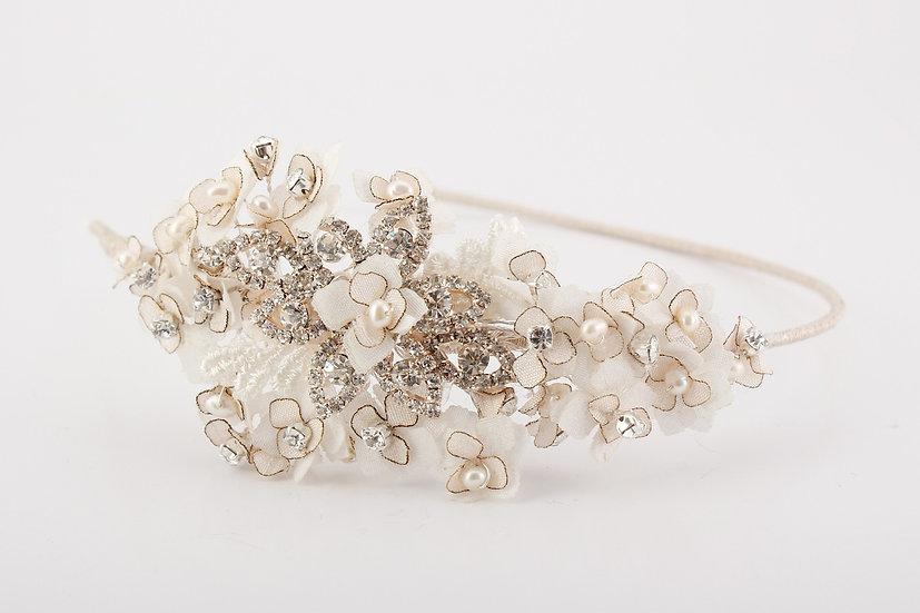 Molly Silver/Rose Gold - Haircomb