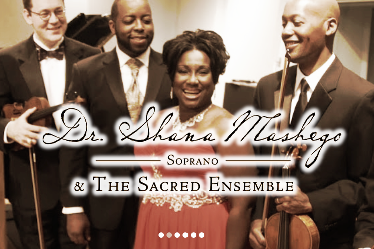 Dr_edited. Shana Mashego & the Sacred Ensemble