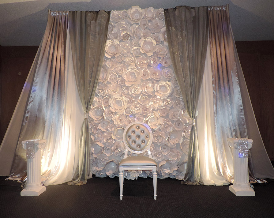 n and n rentals wedding and event rentals backdrops