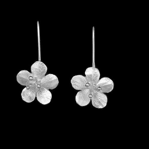 Cherry Blossom Earrings~Articulate Stamens