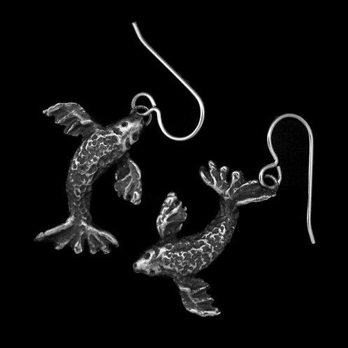 Koi Joy~Butterfly Koi Fish Earrings