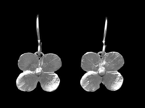 Hydrangea Blossom Earrings