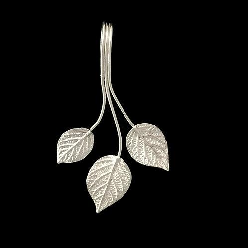 Trio of Hydrangeas Pendant/Enhancer~Shiny