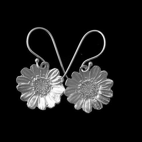 Daisy Blossom Earrings~Ear Wire or Post~Shiny