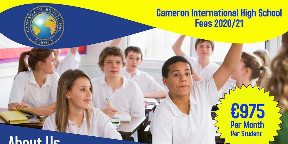 Cameron International High School Open Day