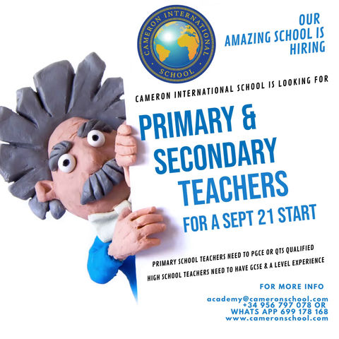 We want Amazing Teachers to come and Join us!