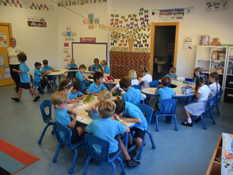 First Day Back to Cameron International School