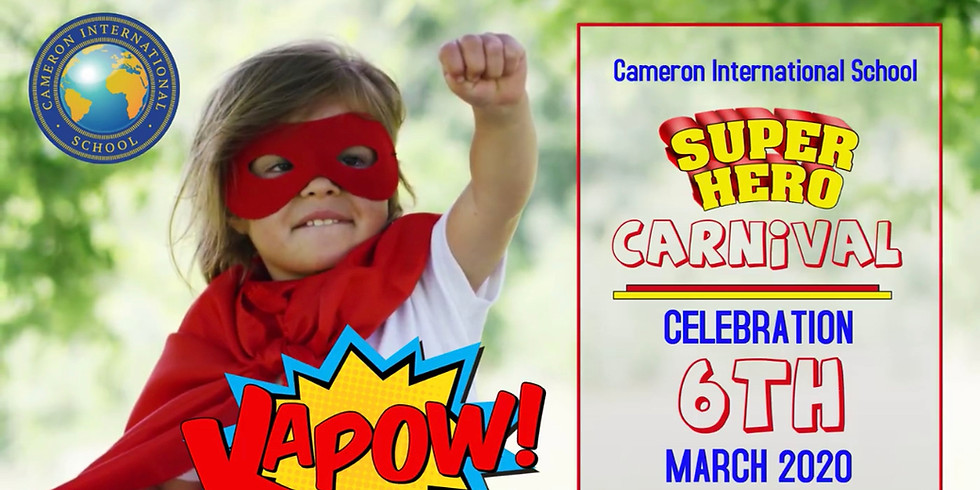 SUPERHERO FANCY DRESS DAY AT CAMERON SCHOOL