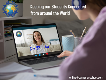 Keeping our Students Connected from around the World
