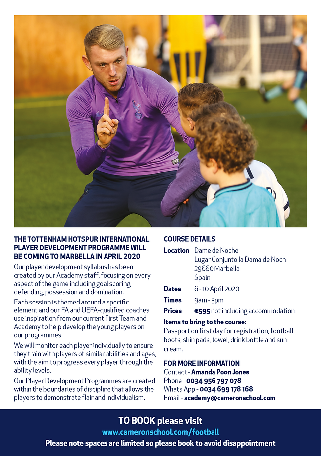 Soccer Schools IPD_SPAIN PDP_A5 Flyer_Pa