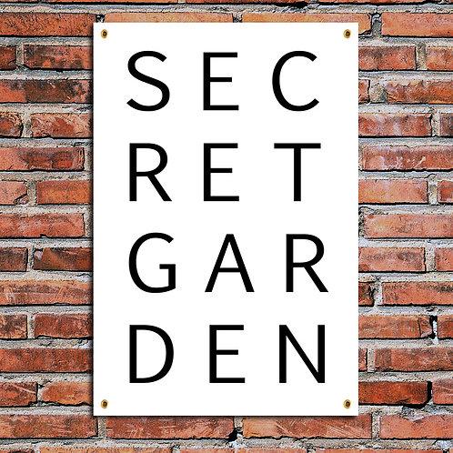SECRET GARDEN, GARDEN PRINT