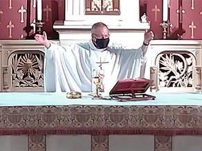 RECEPTION FOR FR. JOHN PAUL