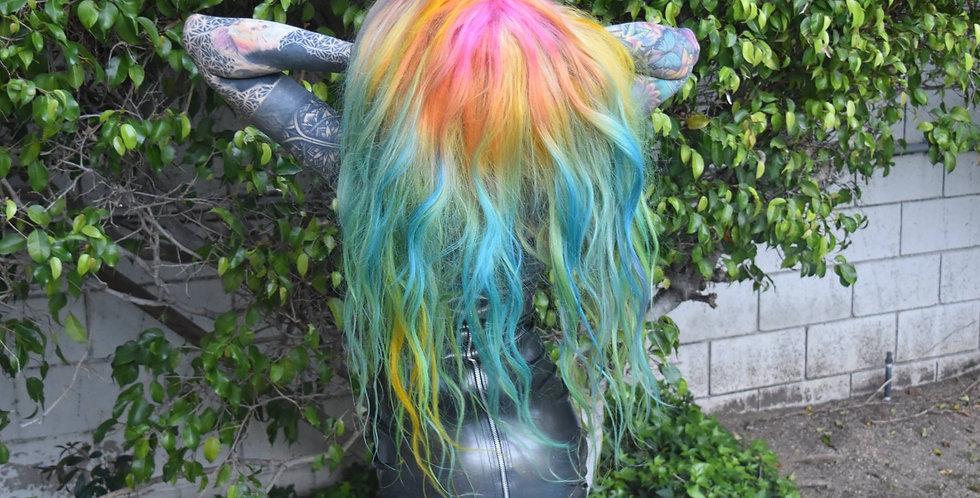 """22"""" Mermaid rainbow wig"""