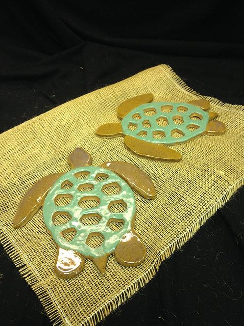 Heidi Hill - Turtle Trivets