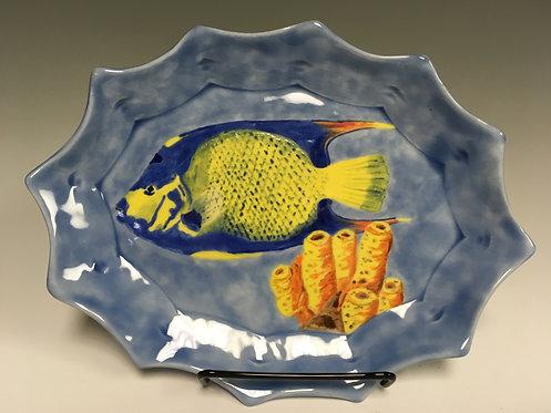 Judy Nye - Queen Angel Mini Platter