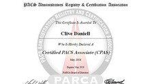 Which PACS administrator certification is best for South Africa