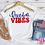 Thumbnail: Freedom Vibes Retro Patriotic Unisex Adult Tee